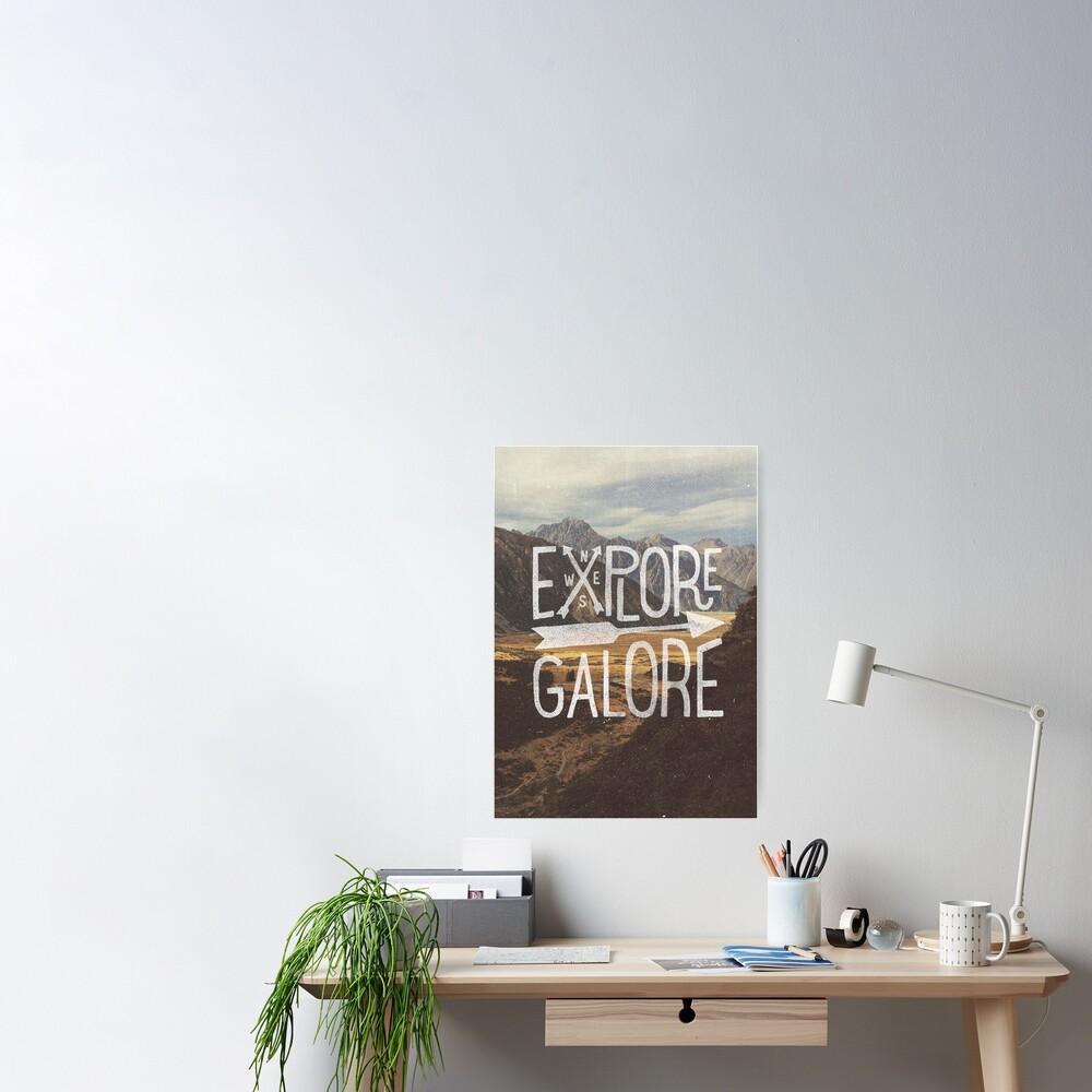 Explore Galore Poster
