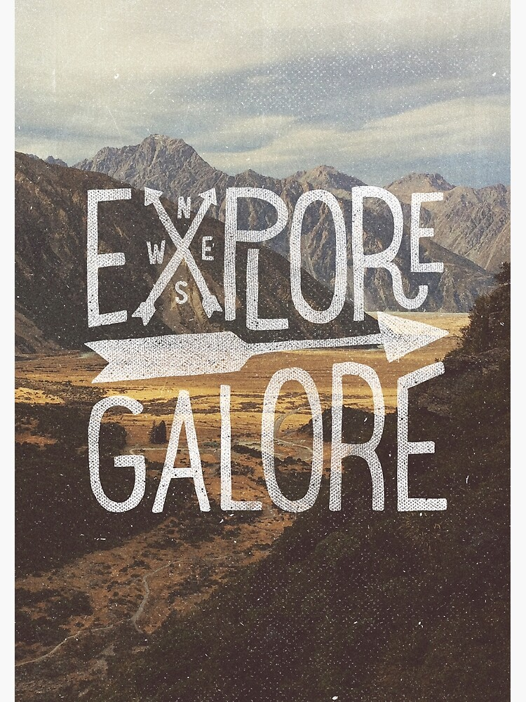 Explore Galore by cabinsupplyco