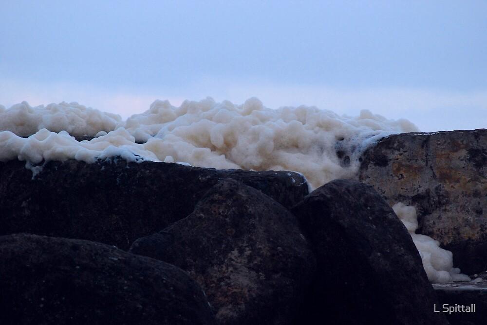 Foam Rock by L Spittall