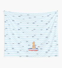Salty sailor cat. Wall Tapestry