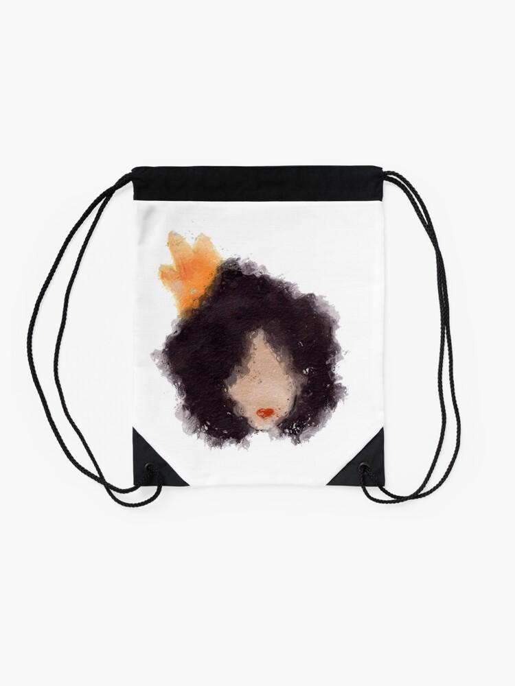 Alternate view of Royal Afro Drawstring Bag