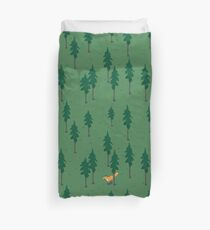Fox in the woods. Duvet Cover