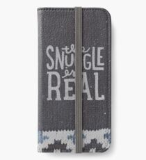 the SNUGGLE is REAL iPhone Wallet/Case/Skin