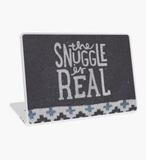 the SNUGGLE is REAL Laptop Skin