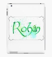 Rohan Calligraphy iPad Case/Skin