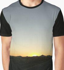 Southwestern Sunset Graphic T-Shirt