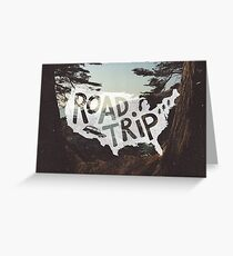 Road Trip USA Greeting Card
