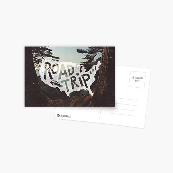 Road Trip USA Postcard