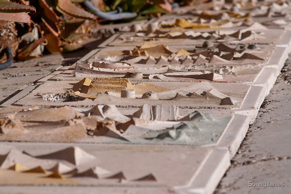 Arcosanti Tile Cityscapes by SunnyJames