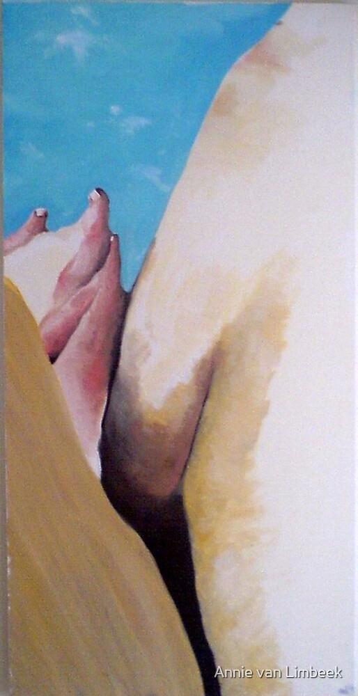 Body landscape, 2005 by Annie van Limbeek