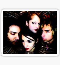 Mindless Self Indulgence full band shot Sticker