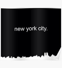 new york city. Poster