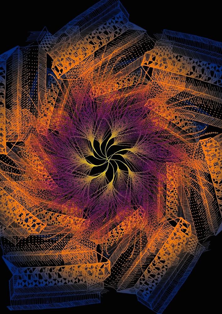 Digital Abstract by Santiago Jäger