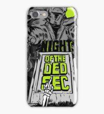 DedsecGrnWall3 iPhone Case/Skin