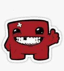 SuperMeatBoyThumbUp Sticker