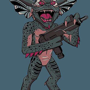 Gremlins Mohawk  by mysticfetus