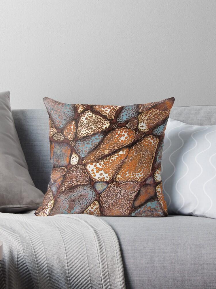 Mosaic Glaze 1 (detail) Carcoar by CarcoarPottery