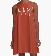 Ham : To Kill A Mockingbird Literally Scout Halloween Costume A-Line Dress