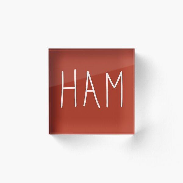 Ham : To Kill A Mockingbird Literally Scout Halloween Costume Acrylic Block