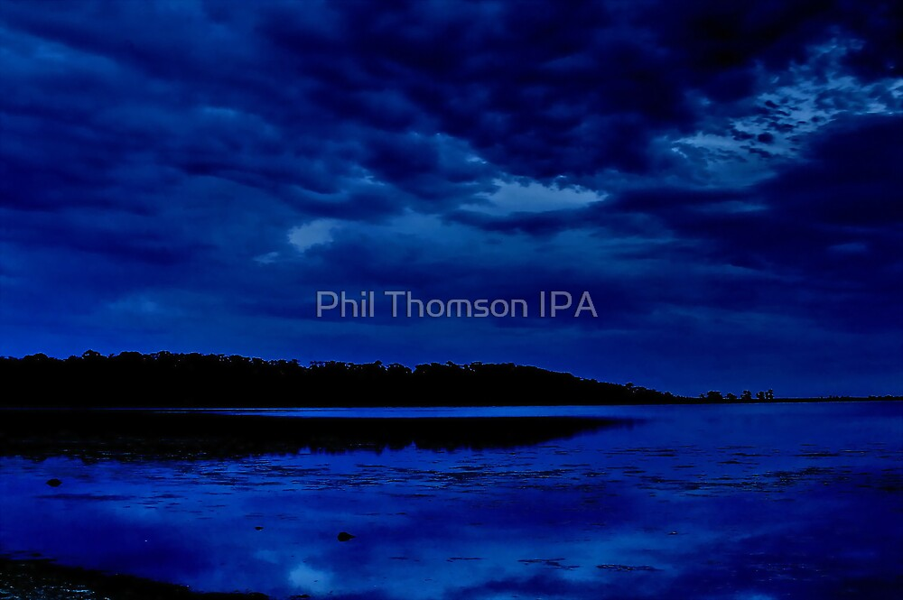 """Nightime Blues"" by Phil Thomson IPA"