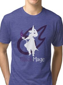 Black Mage - Final Fantasy XIV [black] Tri-blend T-Shirt