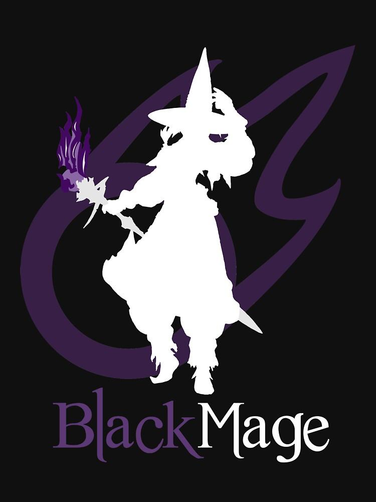 Black Mage - Final Fantasy XIV [black]   Unisex T-Shirt
