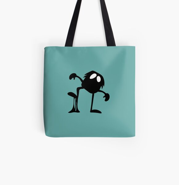 BadaBada - I is for Icky All Over Print Tote Bag