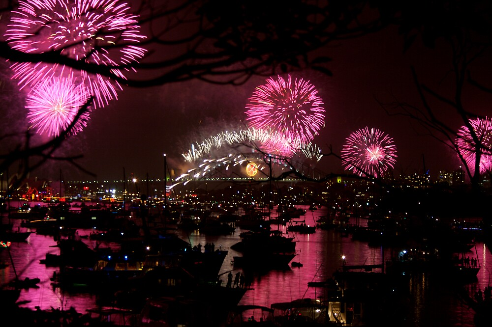 SYDNEY HARBOUR RED by CRSPHOTO