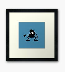 BadaBada - O is for Old Framed Print