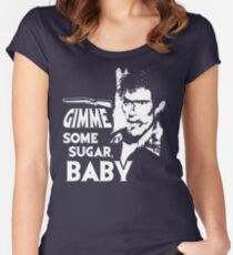 Evil Dead - Ash - Gimme Some Sugar, Baby Women's Fitted Scoop T-Shirt
