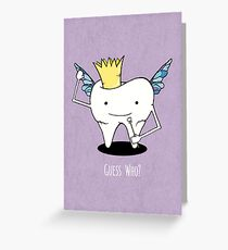 Tooth Series - Guess Who? Tooth Fairy Greeting Card