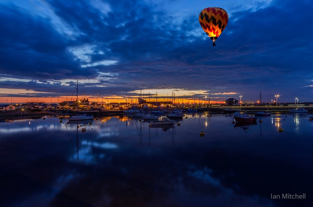 Harbour Night Flight by Ian Mitchell