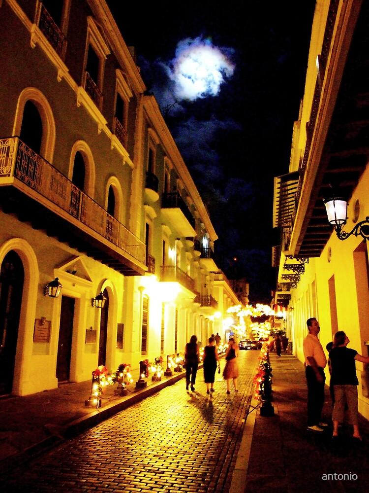 Night Walk by antonio