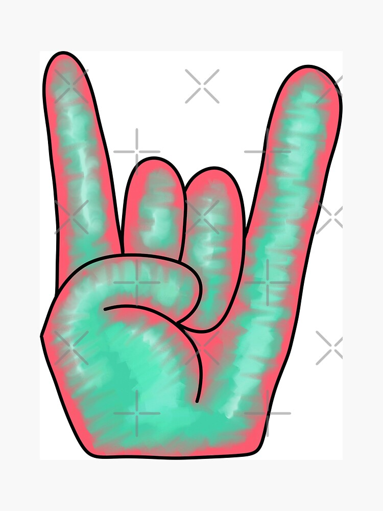 Rock On | Hand Sign by thepinecones