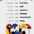 Be like Friends • TV show by Uwaki