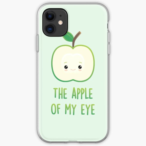 The apple of my eye iPhone Soft Case