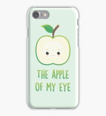 The apple of my eye iPhone Case/Skin