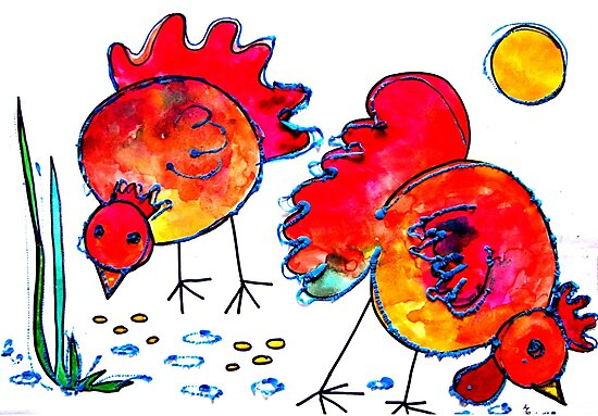 Chickens for children up to 80 years and older... by Elizabeth Kendall