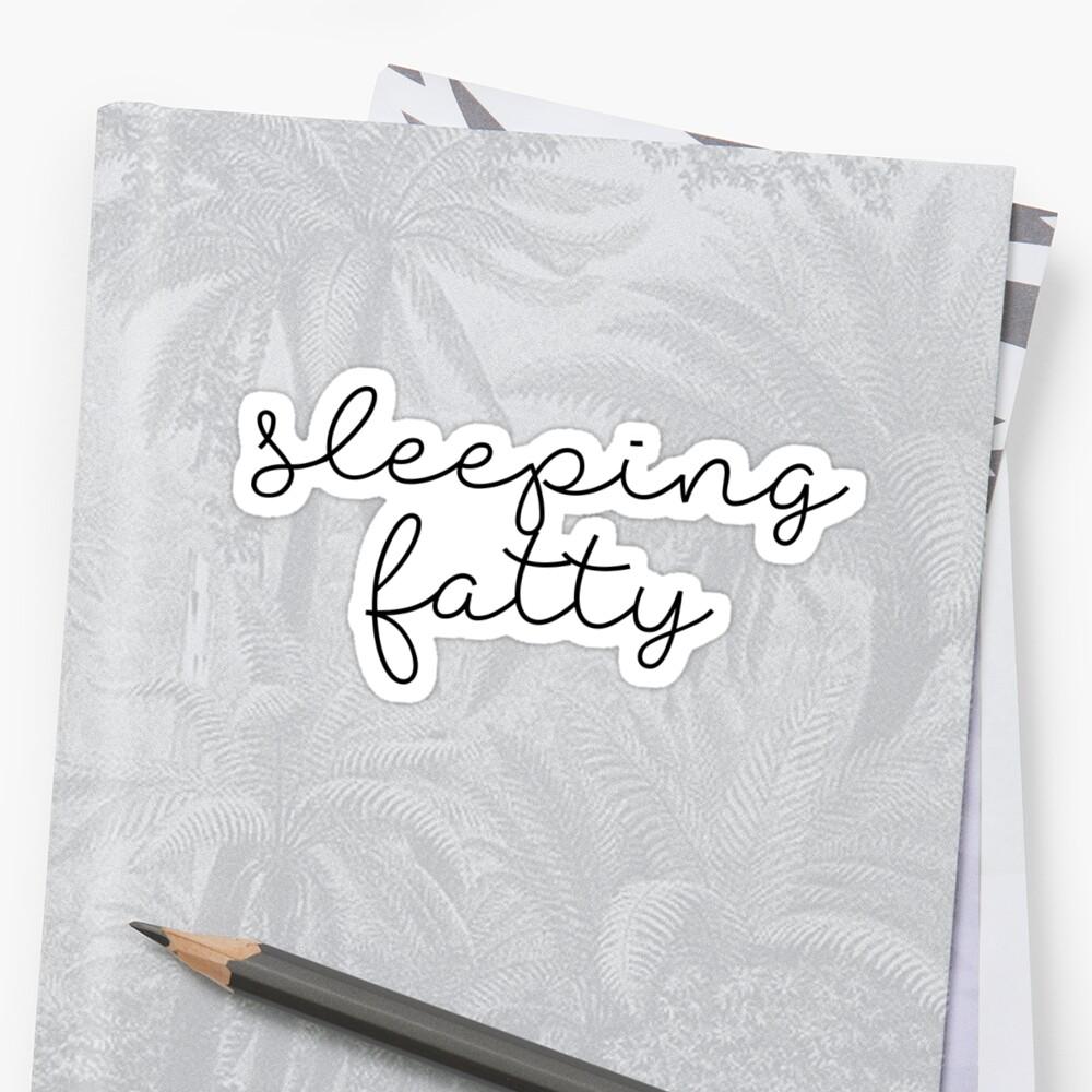 Sleeping fatty by caddystar