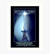Return Of The Hero (Legend of Zelda) Art Print