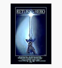 Return Of The Hero (Legend of Zelda) Photographic Print