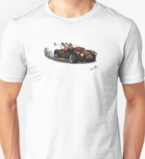 Steampunk Cobra (Green) Unisex T-Shirt