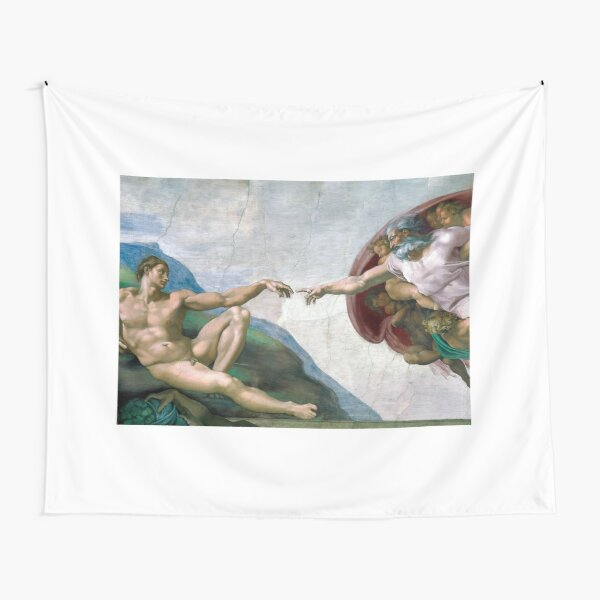 The Creation of Adam Tapestry