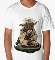 Yoda Pug Star Wars Tee Long T-Shirt