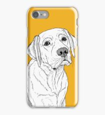 Labrador Dog Portrait iPhone Case/Skin
