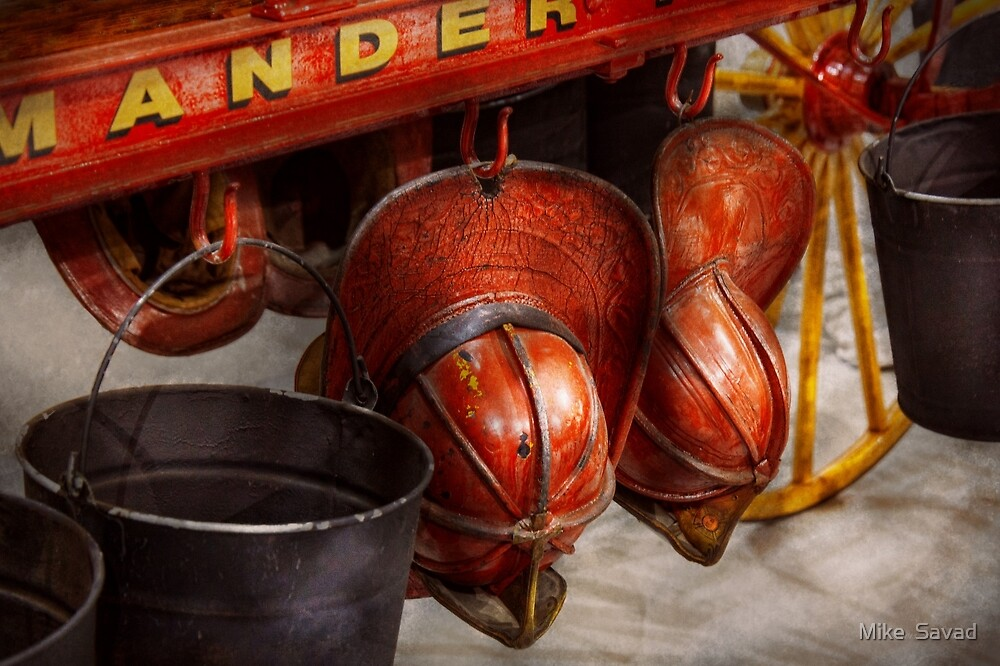 Fireman - Hats - I volunteered for this  by Michael Savad