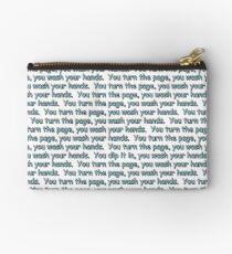 Turn the Page, Wash Your Hands... Studio Pouch