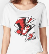Persona 5 - Logo Women's Relaxed Fit T-Shirt