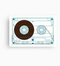 NDVH Audio Cassette Tape Canvas Print