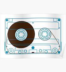 NDVH Audio Cassette Tape Poster